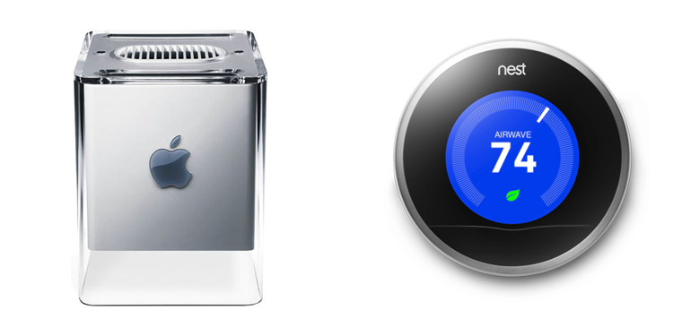 Apple G4 Cube and Nest